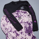 Lakai x Black Sabbath Master of Reality L/S Tee - White Crystal Wash
