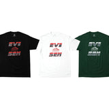 EVISEN REPLICANT TEE - BLACK