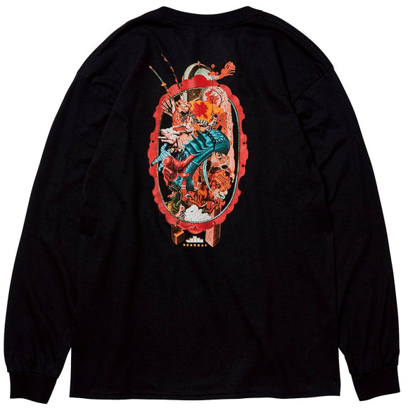 EVISEN ESSENCE L/S TEE - BLACK
