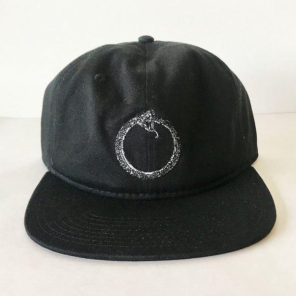 THE KILLING FLOOR OUROBORO SNAPBACK HAT - BLACK