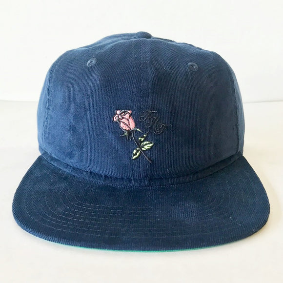 THE KILLING FLOOR KNOWN PLEASURES SNAPBACK HAT - NAVY CORDUROY
