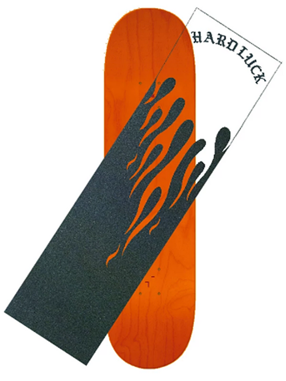 HARD LUCK BURNING CLEAR GRIPTAPE