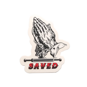ACE SAVED HANDS STICKER - 3""