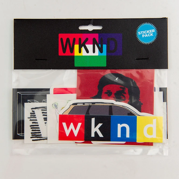 WKND STICKER PACK