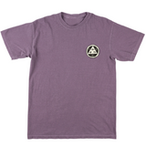 WELCOME SLOTH GARMENT DYED TEE - WINE