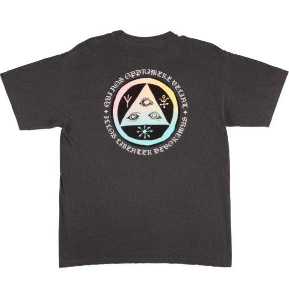 WELCOME LATIN TALI 2 GARMENT-DYED TEE - PEPER/PRISM