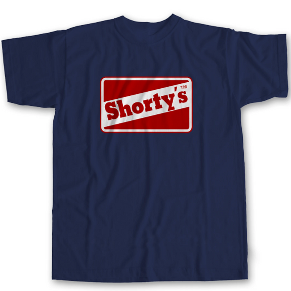 SHORTY'S OG LOGO TEE - NAVY