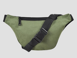 BUMBAG COLLIN PROVOST BASIC HIP BAG -GREEN/BLACK