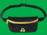 BUMBAG SHAKE JUNT POUCH HIP BAG - BLACK
