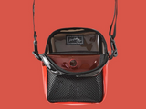 BUMBAG KEVIN BRADLEY COMPACT SHOULDER BAG - BLACK/RED