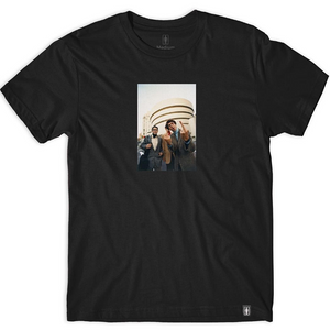 GIRL X BEASTIE BOYS SPIKE JONES TEE - BLACK