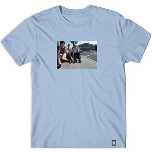 GIRL X BEASTIE BOYS SPIKE JONES TEE - POWDER