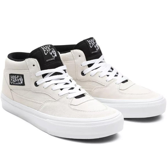 VANS Skate Half Cab Marshmallow Shoes - White