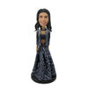Gray Skirt Fashion Lady Bobblehead