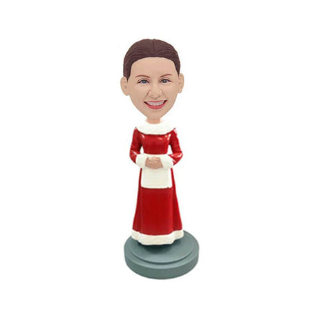 Christmas Housewife Custom Bobblehead