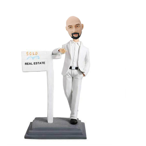 White suit man bobbleheads