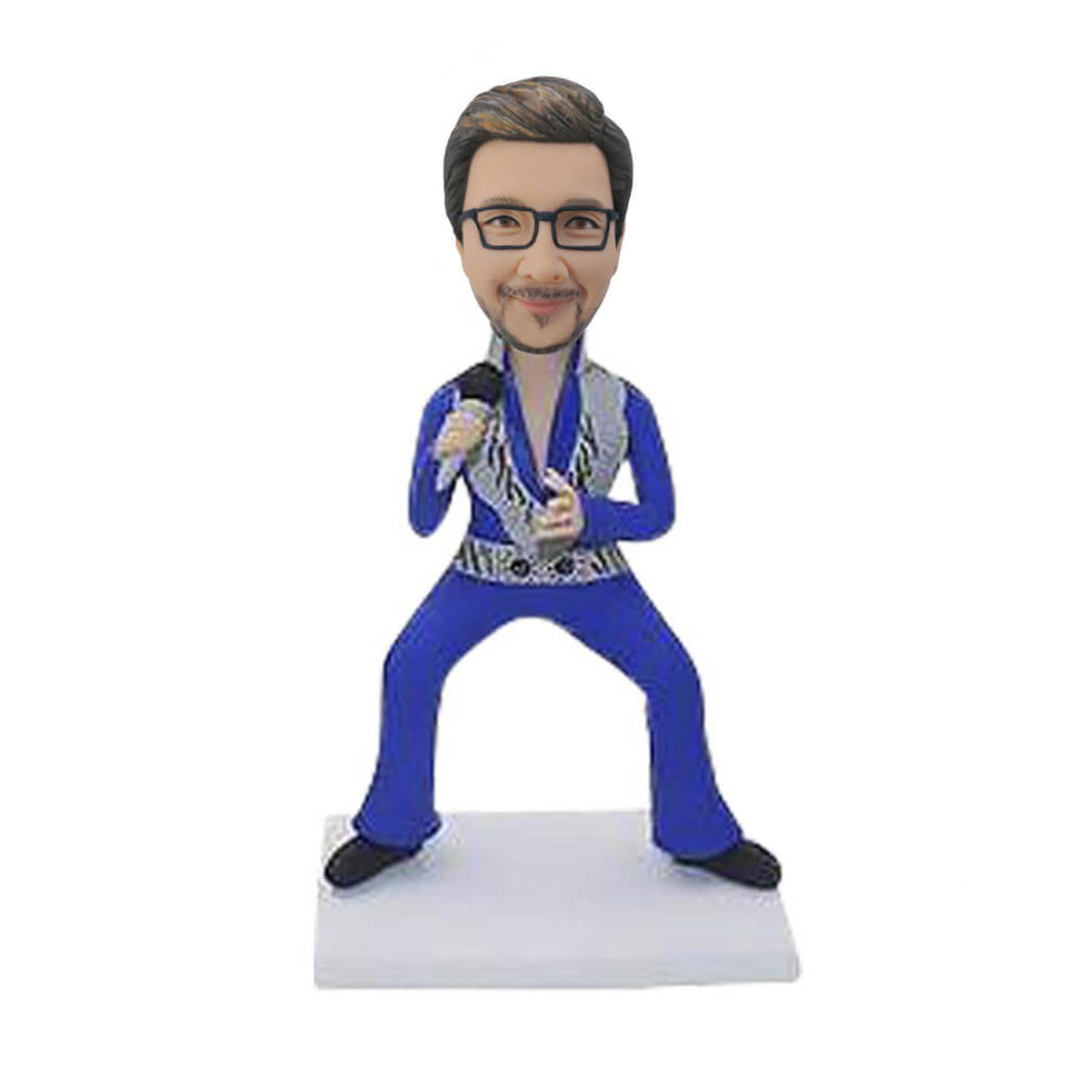 Punk Rock Singer Bobblehead