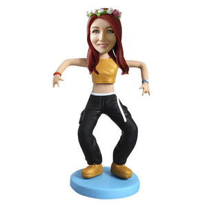Dancing Girl  bobblehead