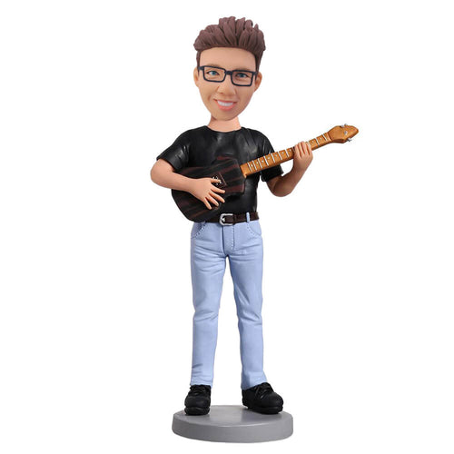 violin boy bobblehead