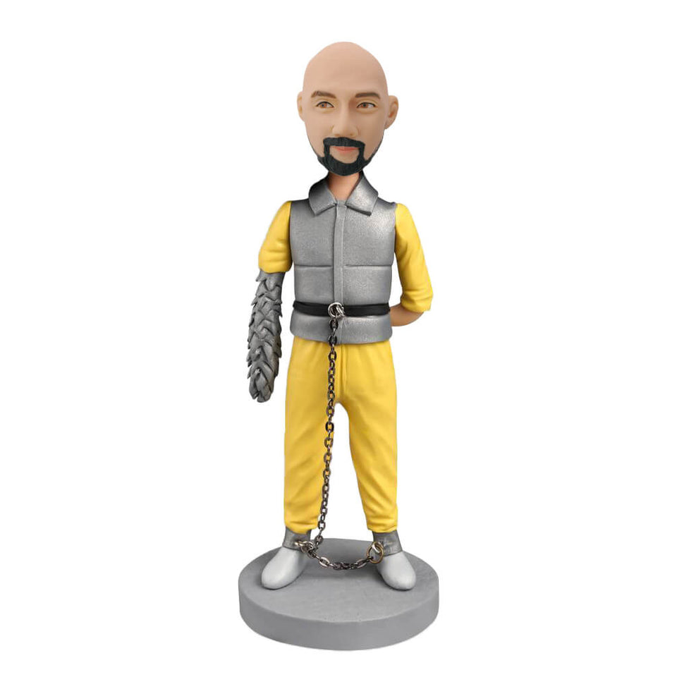 Yellow Suit Star War Custom Bobblehead