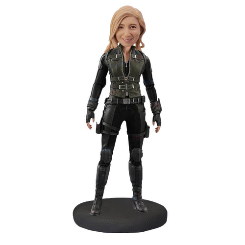 Black widow Bobblehead