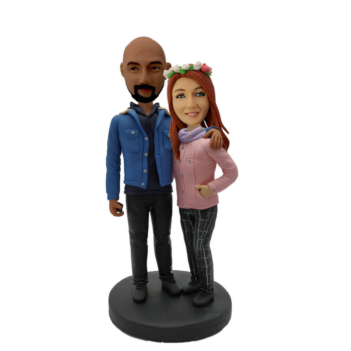 Leisure Suit Young Couple Bobblehead