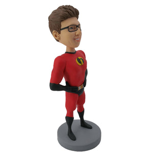 Mr. Incredible Superman Custom Bobblehead