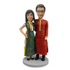 India Couple Bobblehead