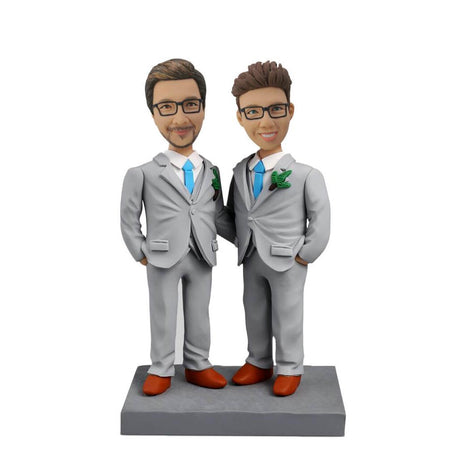 Two Men Bobblehead