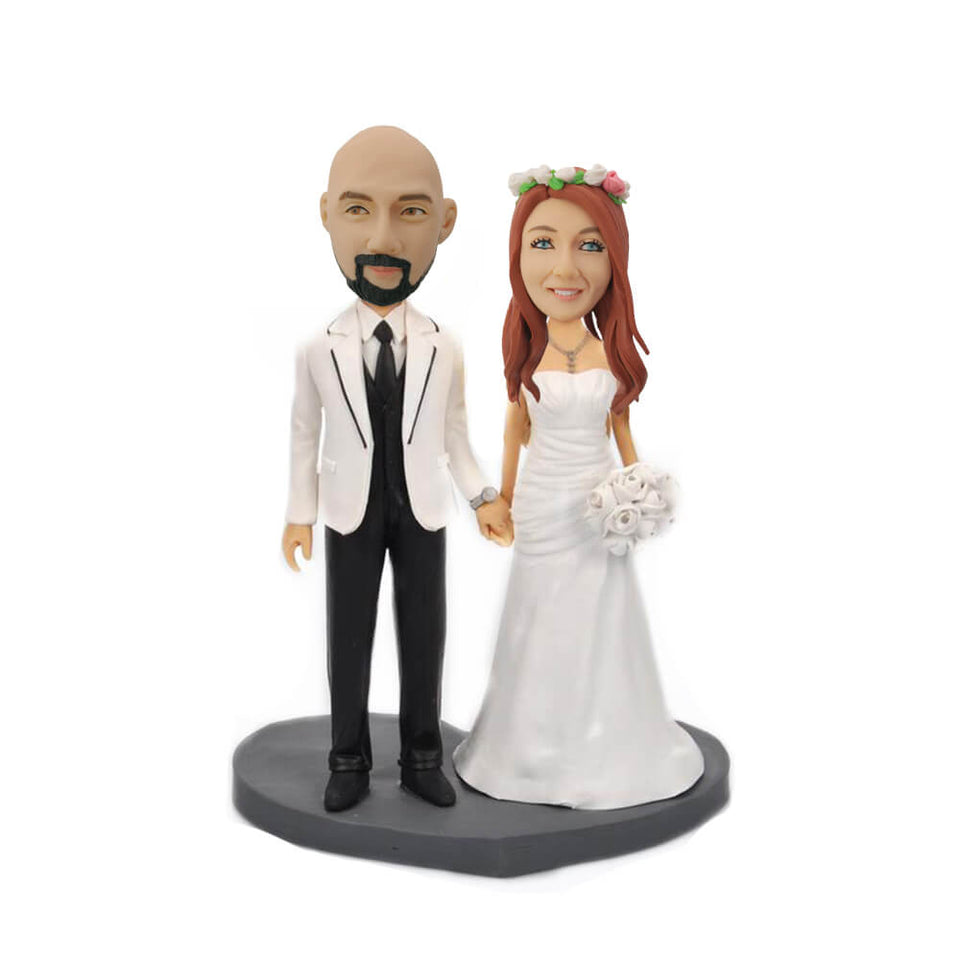 Sweet Couple Bobblehead