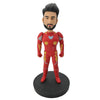 Super Powerful Red Tone Iron Man Bobblehead