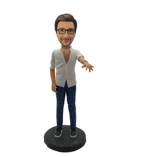#1 Fashion Clothing Man bobblehead