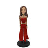Red Skirt Lady Custom Bobblehead