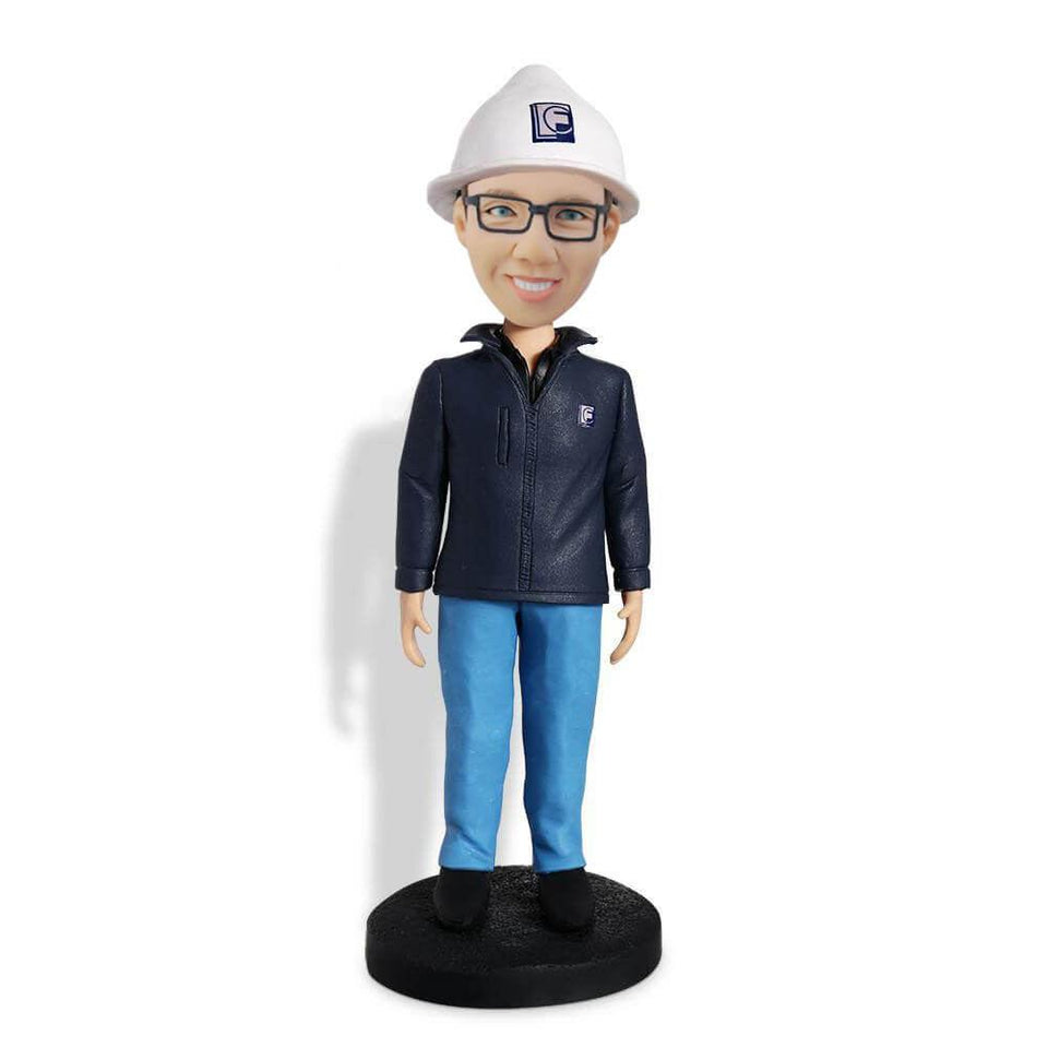 Construction Engineer Bobblehead