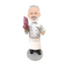 Chef with Steak Custom Bobbleheads