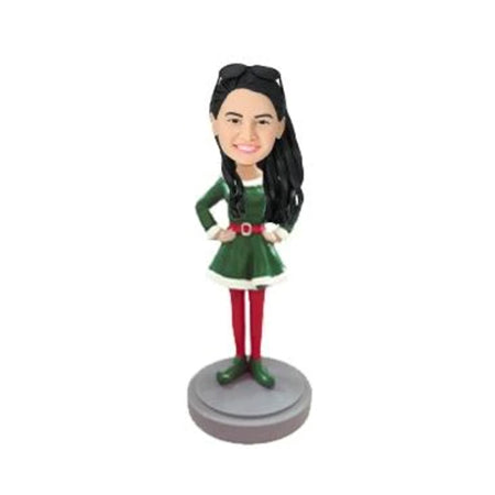 Elf Female Custom Bobblehead