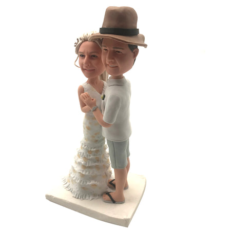Couple bobblehead