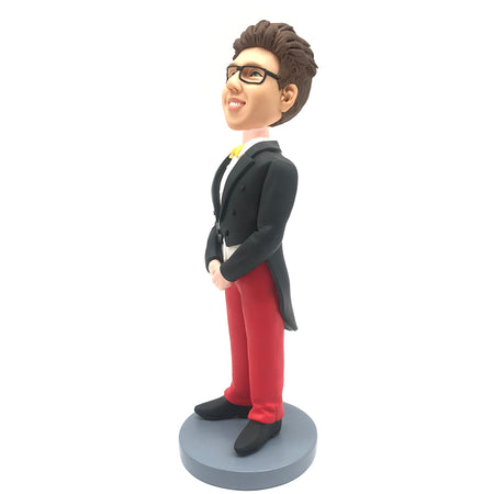 Red Pants Man Bobblehead