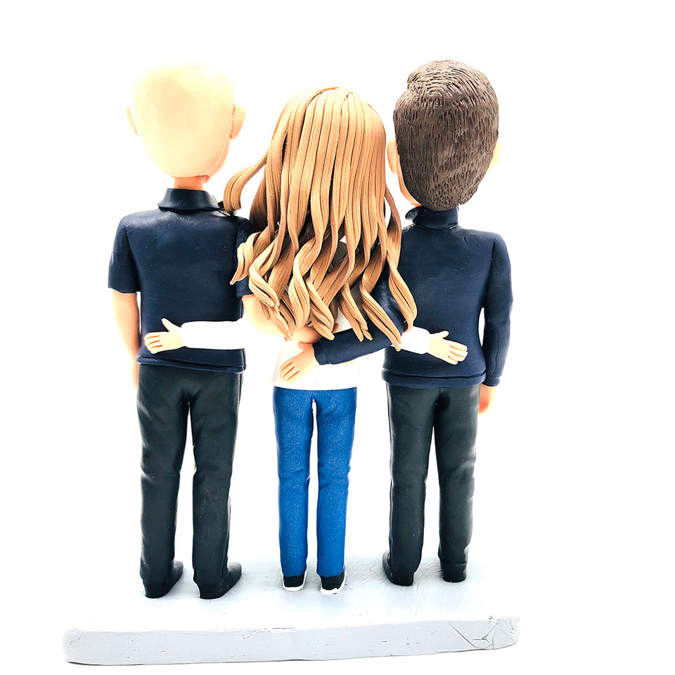 Custom Three People