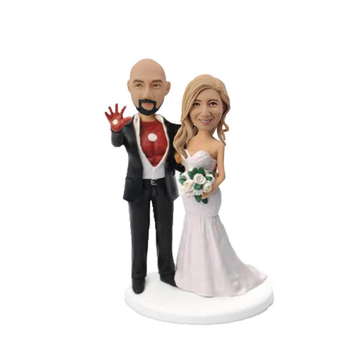 Iron Man Couple Bobblehead