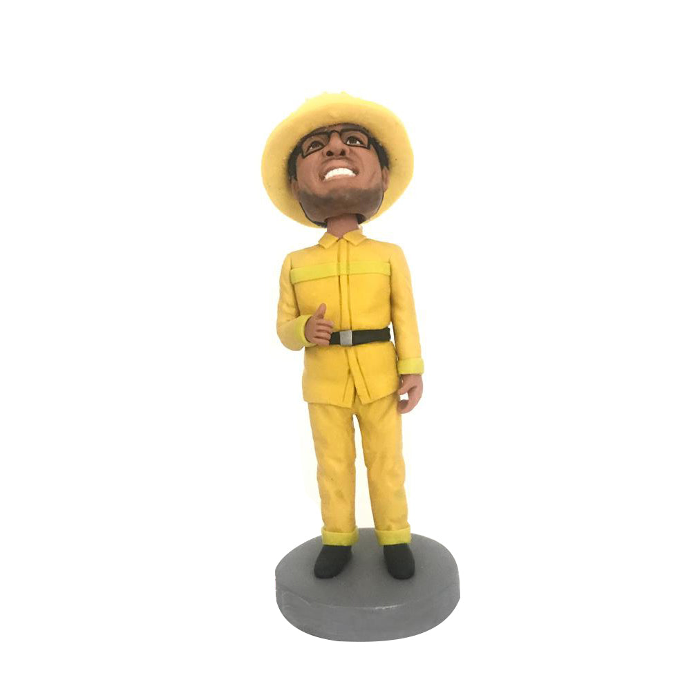 YELLOW SUIT WORKER