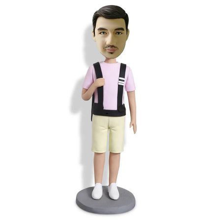 Backpacker Bobblehead