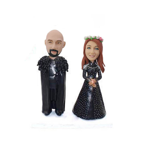 Couple Bobblehead Games of Thrones