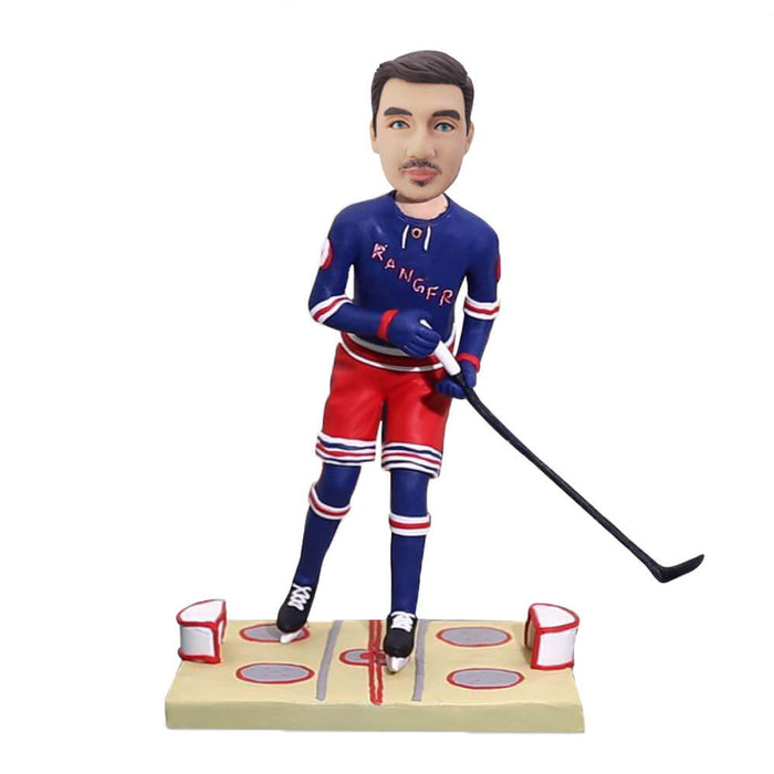Male Ice Hockey Bobblehead