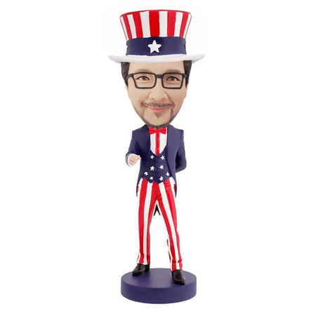 Uncle Sam Bobblehead