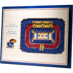Allen Fieldhouse 5-layer