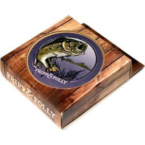 Stone LargeMouthBass Coasters