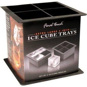 2in Square Ice Cube Molds (2)