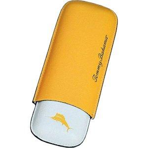 Tommy Bahama Leather 2-Cigar Yellow