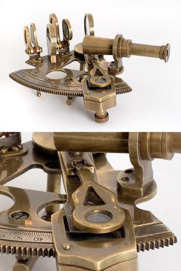 Bronze Pocket Ship's Sextant